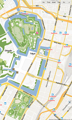 D Maps Of Tokyo GPS Navigation App For Android - Tokyo japan 3d map